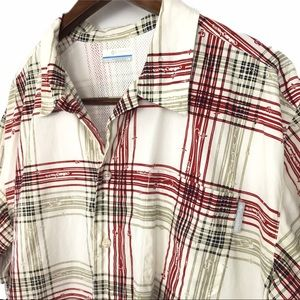 Columbia PFG Men's Button Up Shirt Size Large